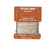 Lötzinn   10g  1.0mm Sn60%,Pb40 FELDER