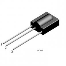 TSOP31230            IR-Empfänger    30kHz    2,7-5,5V
