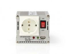Wechselrichter 12VDC/230VAC 300W + USB