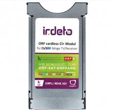 Cardless Irdeto CI+ Kombi Modul mit Integrierte ORF Karte