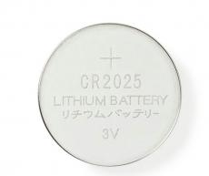 CR2025/5er        Lithium    3V            20,0x2,5mm    HQ    5er    Pack