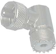 PL-Adapter(UHF)                                        Stecker-Kupplung    Winkel