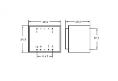 Print-Trafo       2x    6V/230V    3,6VA