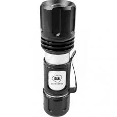 Taschenlampe LED 360lm sufenlos fokussierbar