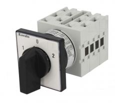 Knebelschalter 20A 4polig 1-0-2 600V LOVATO ELECTRIC