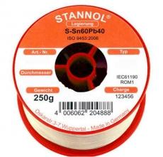Lötzinn 250g   0,7mm Sn60Pb40 Flux Kristall 505