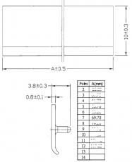 Klemmenabdeckeng 80mm   TBC-07 für MEAN WELL Netzgeräte