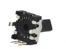 Drehimpulsgeber 24Impulse 5V 5mA D6mm  inkremental mit Drucktaster