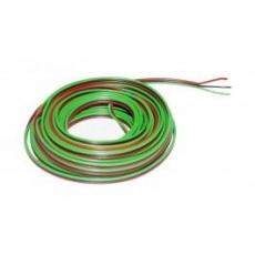 Litze    0,14    3pol.    5M                        grün,rot,schwarz