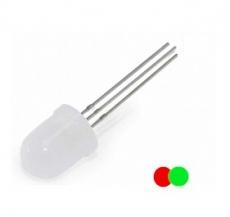 LED    10mm    rot/grün    3pol.        gem.    Kathode    (-)    DUO