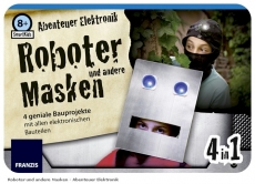 Abenteuer    Elektronik                    Roboter    Masken    4in1    ab    8J
