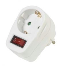 Netzadapter    mit    Schalter    Vivanco