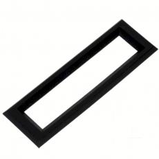 Rahmen    79,5x25mm    schwarz