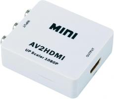 HDMI    auf    AV-Cinch                                Konverter    +    Audio