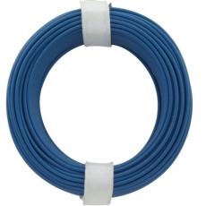 Schaltdraht    0,5mm    blau                    10m
