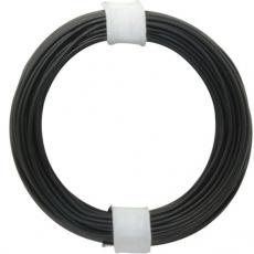 Schaltdraht    0,5mm    schwarz        10m