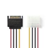 SATA    Adapter    4pol.51/4->SATA    Stecker    15pol