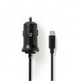 Ladegerät  12V mit Micro USB Stecker 1 Meter Kabel