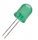 LED    10mm    grün                                                            LEUCHTDIODE