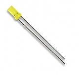 LED    3mm    gelb    V323P        flach    LEUCHTDIODE