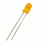 LED    5mm    gelb    blinkend                32mcd    60°    3.5-14V    21mA