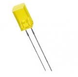 LED    Symbol    5x5mm    gelb                Quadrat    588nm    5mcd    10mA