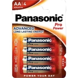 Batterie    Mignon    AA    AlkaliPro    Power    4St.    Panasonic