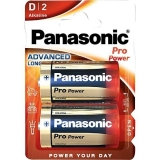 Batterie    Mono    2 Stück  Panasonic Alkaline    ProPow