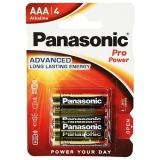 Batterie Micro 4 St.  Panasonic    Alkaline    4-er Pack