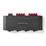 Lautsprecher  Umschaltbox  4xLS-Paare mit Anschlussklemmen