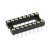 IC-Sockel        16-pol        high
