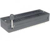 IC-Sockel        28    pol        ZIF            Nullkraftsockel