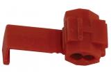 Schneidklemme    0,4-0,75mm² rot Abzweigklemme