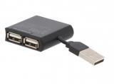 USB HUB 2.0 4fach mini 480Mbps