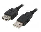 USB2.0-A    Stecker/KupplungVerlängerung    5M    Kabel