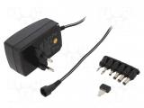 Netzgerät    5-12VDC    60W    IN:100-240    für    Monitor,....