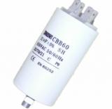Motorkondensator                                    20uF/450V    40x70mm    mit    Fas