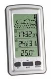 Wetterstation mit Funkuhr -40°C - +65°C