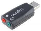 Soundkarte 3D-Sound 5.1 USB 2.0  3,5 mm Doppelstecker