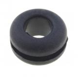 Gummi-Durchführung                            6,3mm