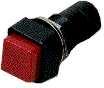 Taster    aus(ein)    rot                        rechteck    250V    3A    DM11,8mm