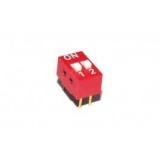 Codierschalter    MiniDip    2    Schalter