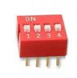Codierschalter    MiniDip    4    Schalter