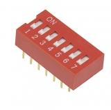 Codierschalter    MiniDip            7    Schalter