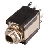 KLINKENBUCHSE    6.3mm                        Stereo    lötbar            +2Öffner