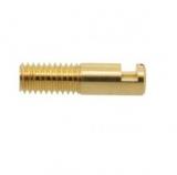 Büschelkupplung    4mm    Gold    ohne    Isolierung    lötbar