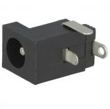 DC-Buchsen                5,5/2,5mm        printbar    Plastik