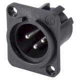 XLR    Einbaustecker    3p.                Kunststoff    Neutrik    NCMPP