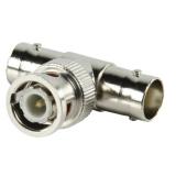 BNC    T-Adapter 1x Stecker-> 2x Buchse