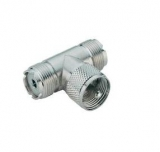 PL-Adapter(UHF)    T-Adapter2xKupplung    1xStecker